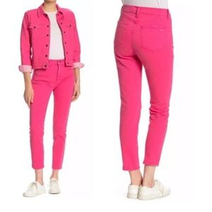 Rag & Bone Pink High Rise Skinny Jeans 24 NEW